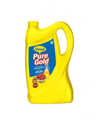 Vimal Groundnut Oil 5 L Jar