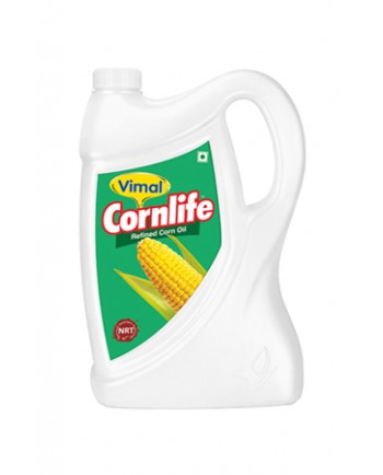 Vimal Refined Corn Oil 5 L Jar
