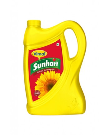 Vimal Refined Sunflower Oil 5 L Jar