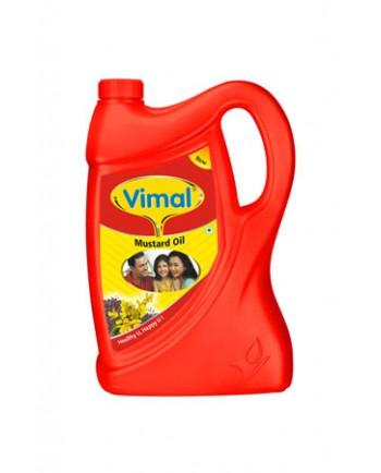 Vimal Mustard Oil 5 L Jar