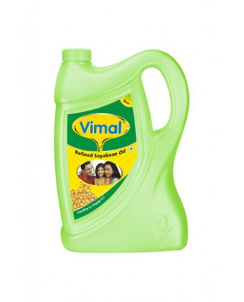 Vimal Refined Soya Bean Oil 5 L Jar